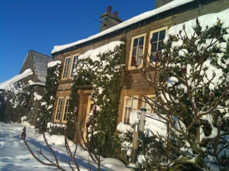 Snowy Beechenhill Farmhouse