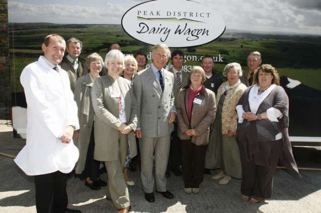 HRH Prince Charles & the Dairy Wagon