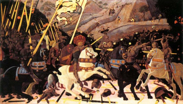 Paolo Uccello's Battle of San Romano