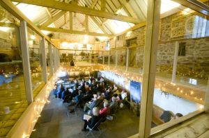Courses and small conferences at Beechenhill Farm Eco Venue The Haybarn