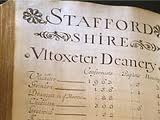 Staffordshire Records family history research