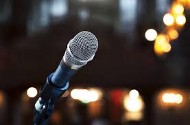 Use a microphone if advised by your venue hosts.